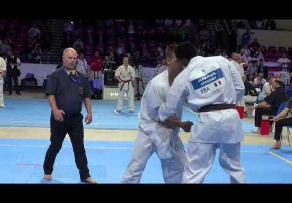 CHAMPIONNATS D'EUROPE 2015 - Jean-Paul JACQUOT vs Gergo PETHO
