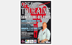 OPEN de TOURAINE WE DES 21 ET 22 OCTOBRE 2017